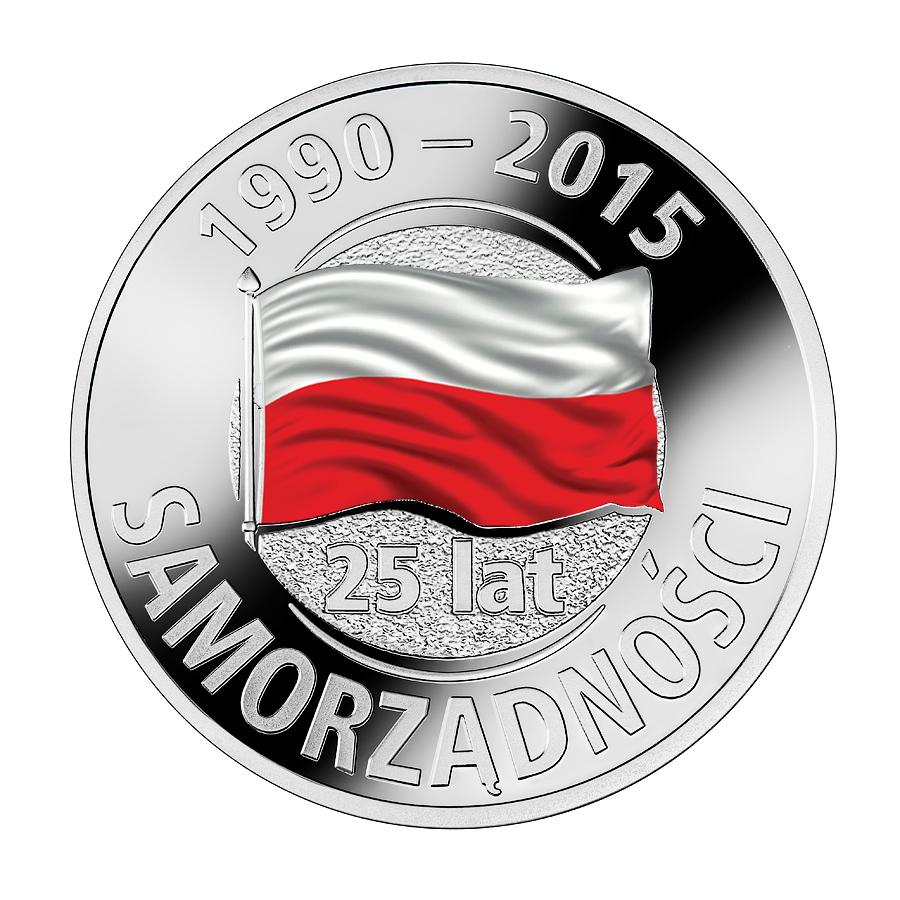 25 lat samorządności (medal miedzionikiel)