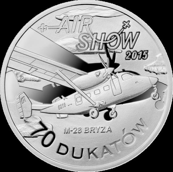 70 dukatow air show pokazy lotnicze radom mennica polska