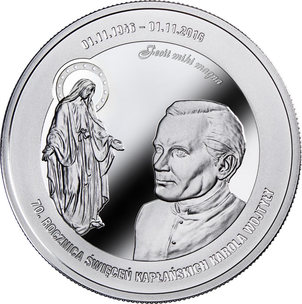 Karol Wojtyła - 70. rocznica święceń kapłańskich, 100.000 CFA