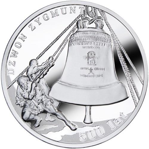 Dzwon Zygmunt - 500 lat, 1 dolar