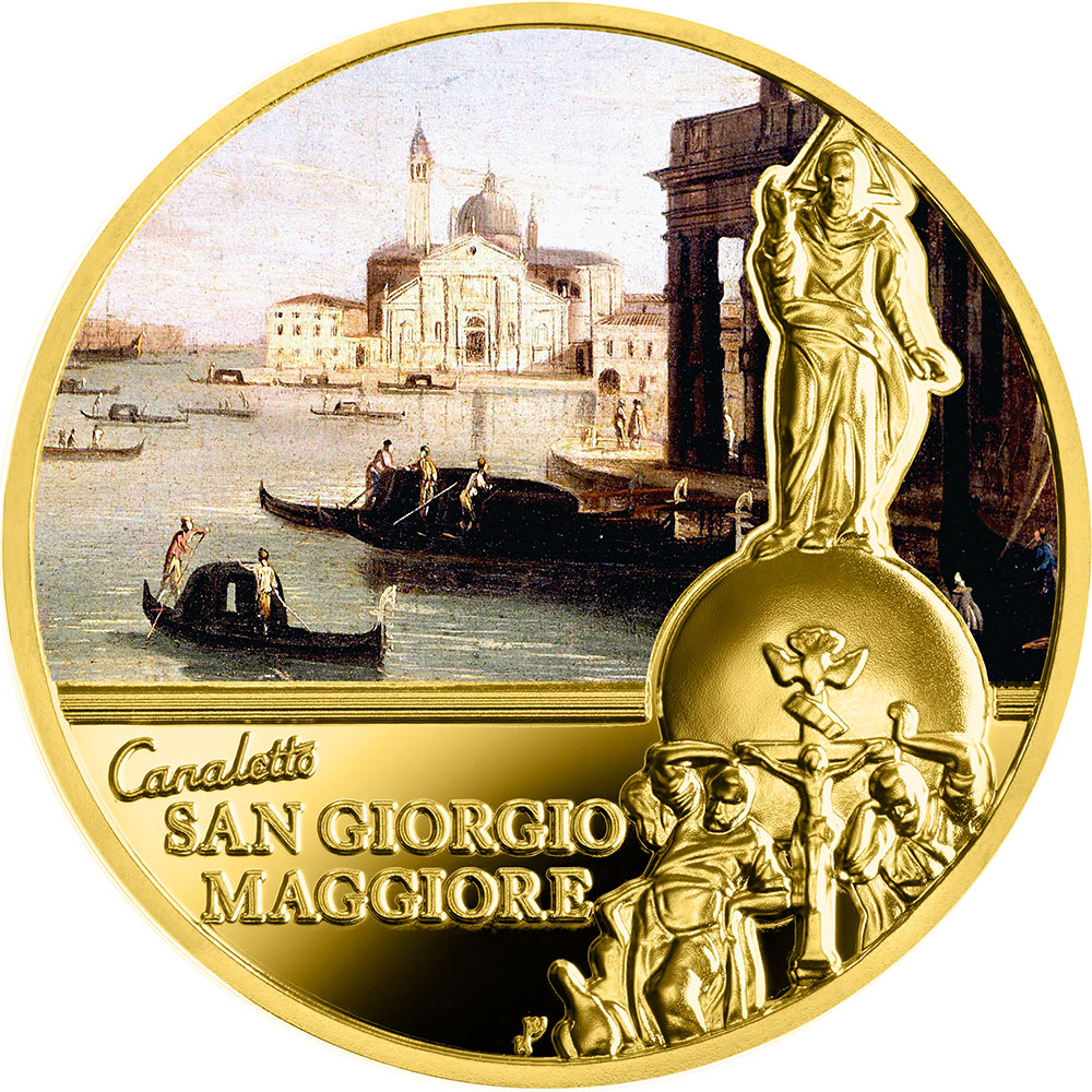 San Giorgio Maggiore, 50 dolarów, Seria: SOS. Wenecja - Początek czy koniec?