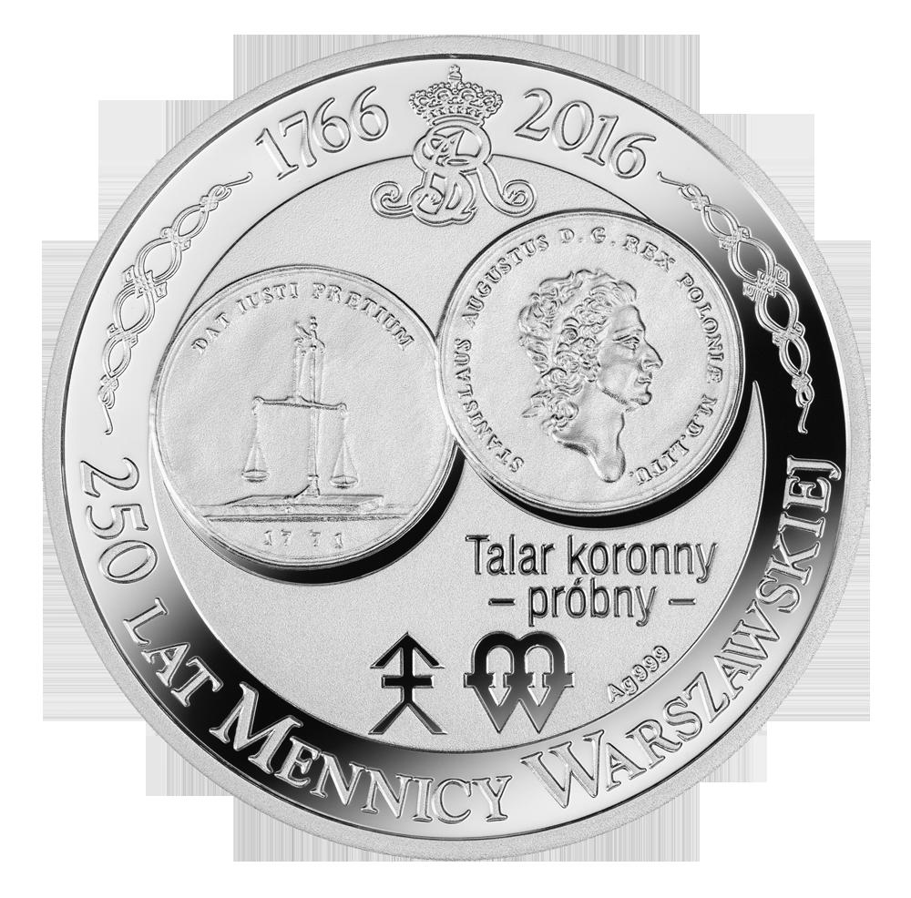 Talar koronny – próbny, Seria: 250 lat Mennicy Warszawskiej