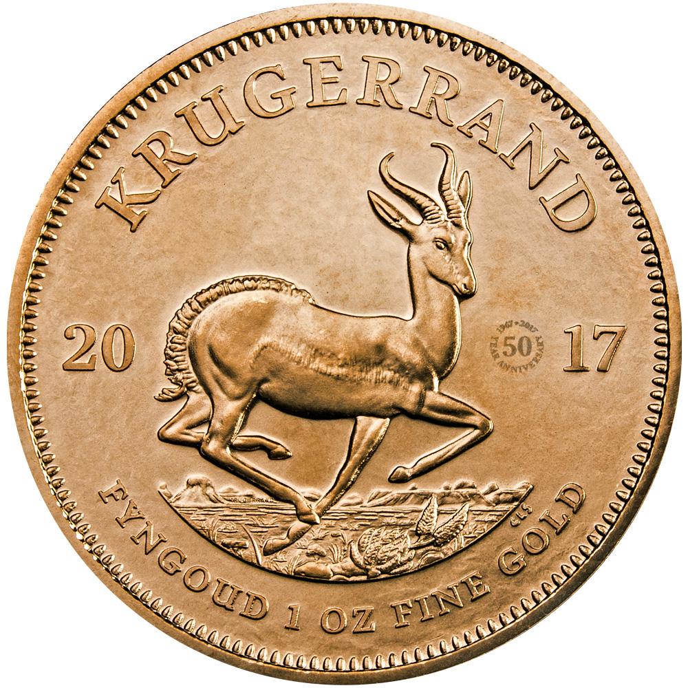 Krugerrand 1 oz - edycja limitowana - 50 rocznica