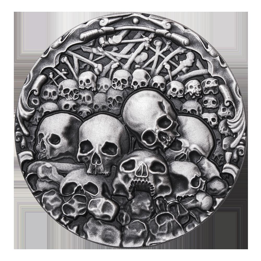 Kaplica czaszek, 1000 franków CFA