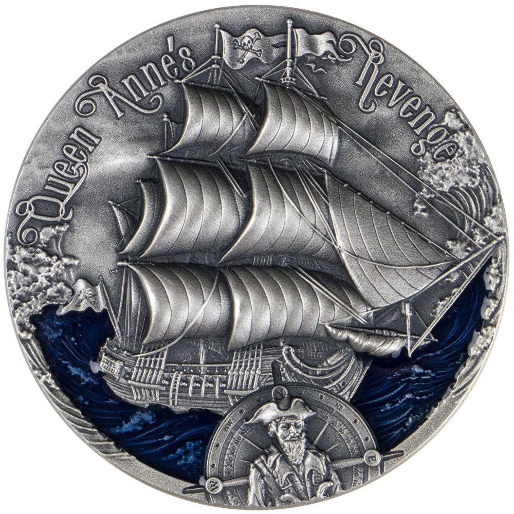 Zemsta Królowej Anny, 2000 franków CFA, Seria: Złoty wiek żaglowców
