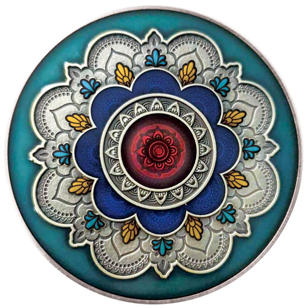 Mandala - koło życia, 2000 franków CFA