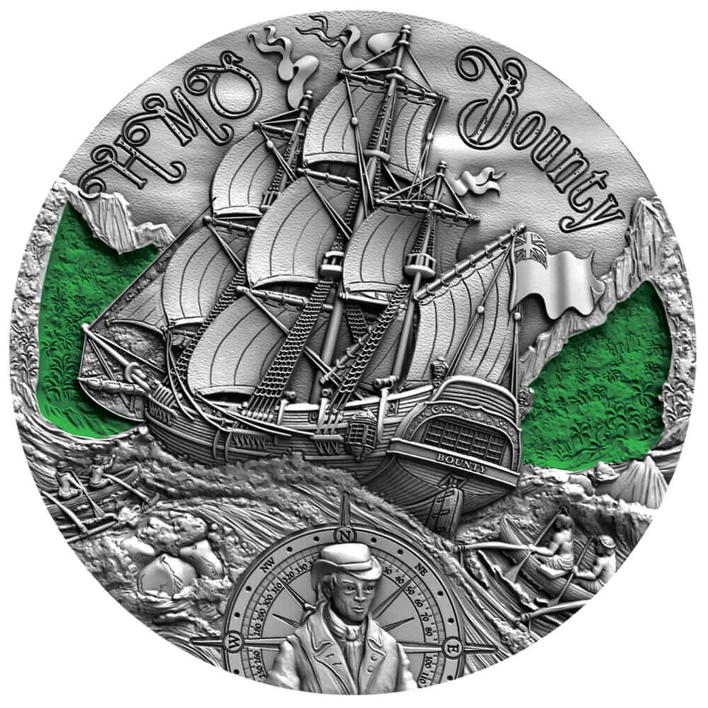 HMS Bounty, 2000 franków CFA, Seria: Złoty wiek żaglowców