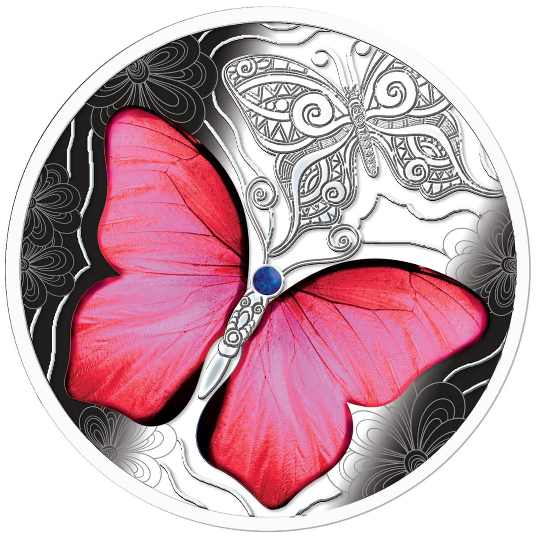 Barwny Świat Motyli, 500 franków CFA