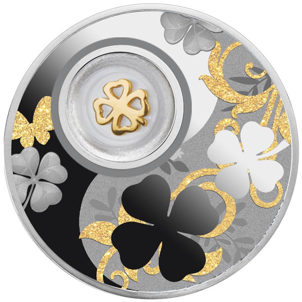 Czterolistna Koniczynka, 500 franków CFA, Seria: Lucky Coins