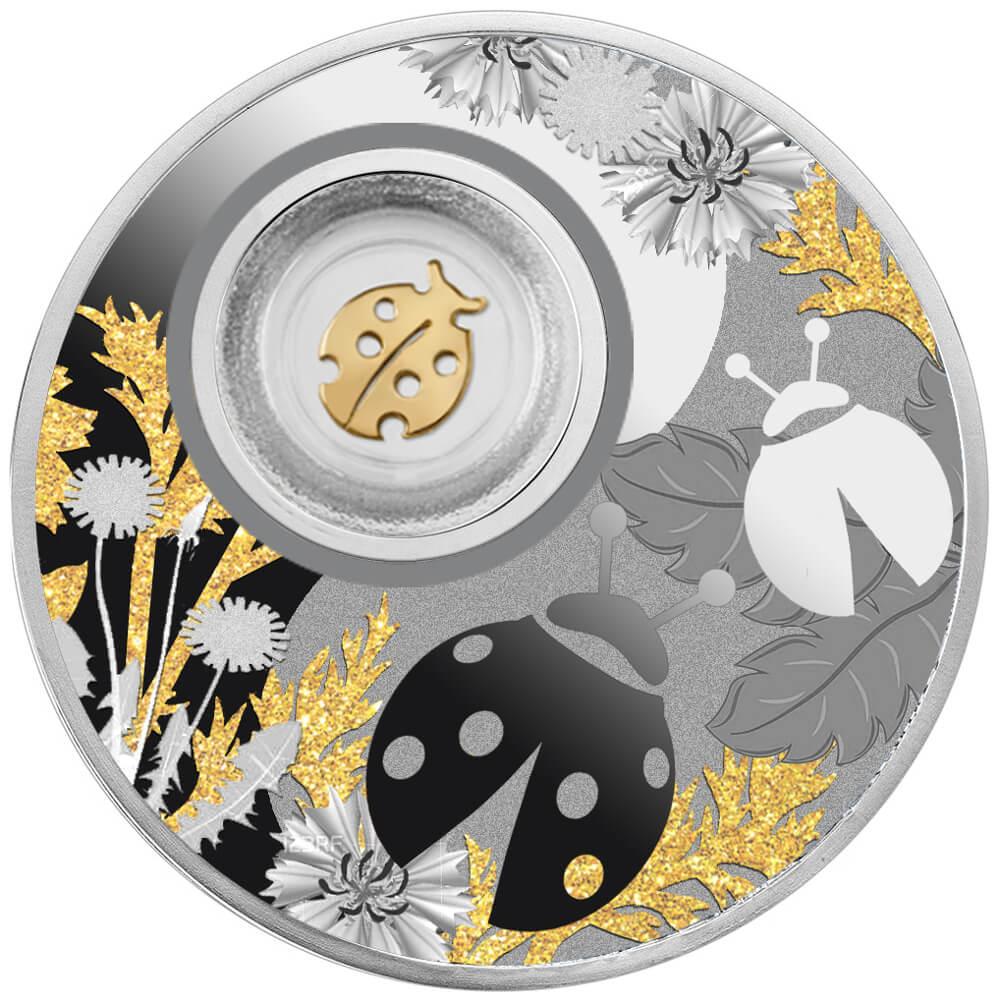 Biedronka, 500 franków CFA, Seria: Lucky Coins