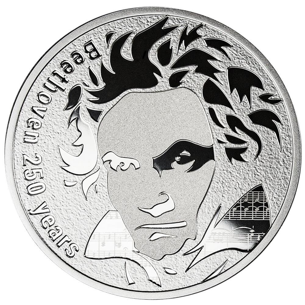 Beethoven 250 lat, 250 franków CFA