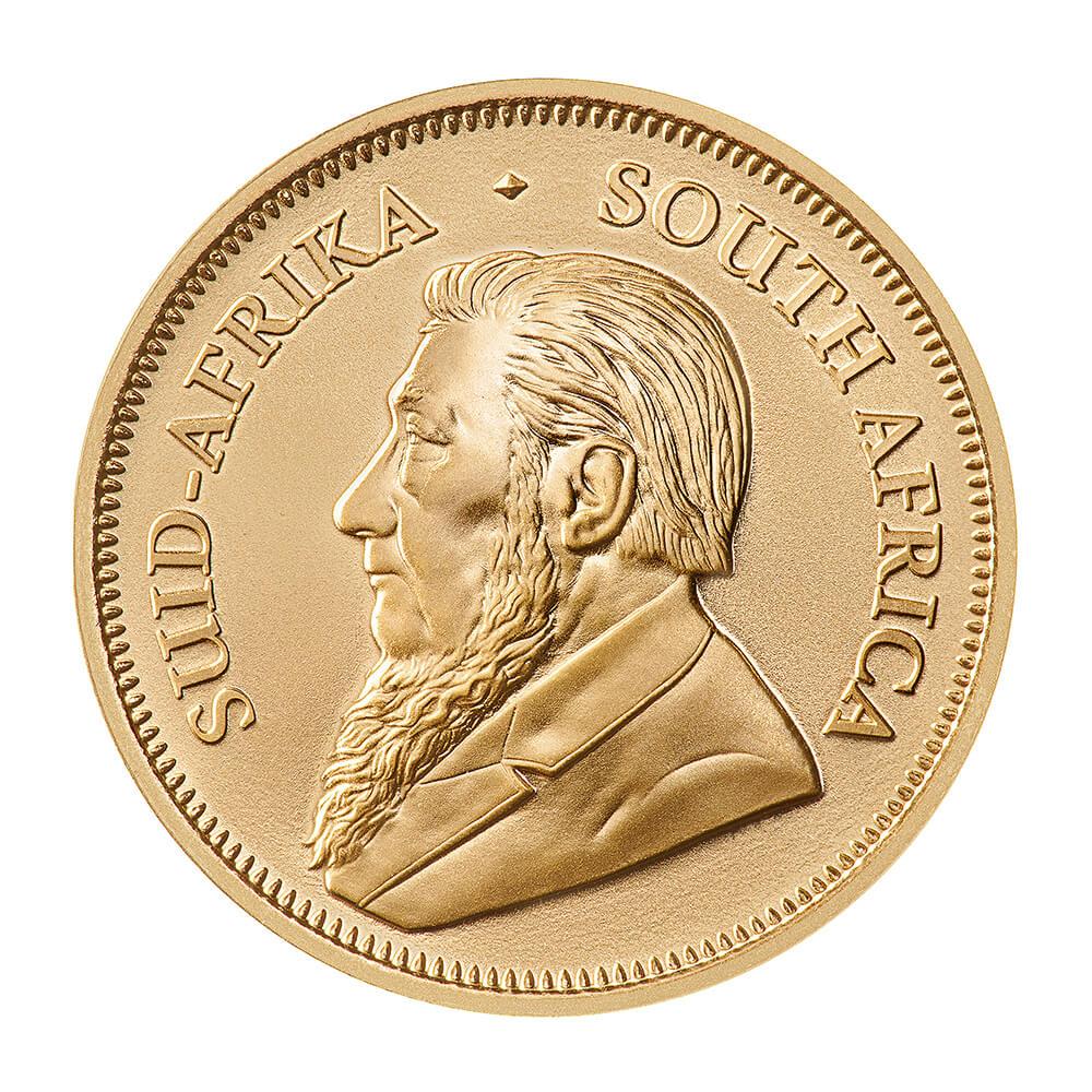 Krugerrand 1/2 oz - Złota moneta bulionowa