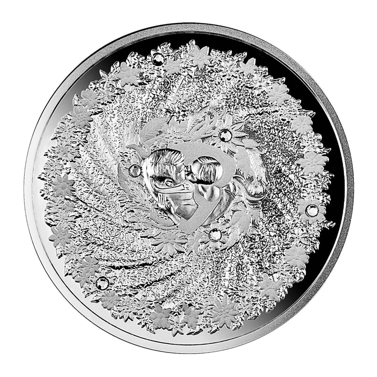 Moneta ślubna, 2 dolary