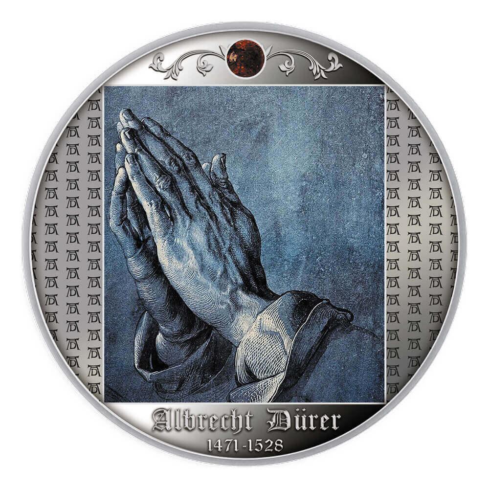 Albrecht Durer, Studium rąk apostoła, 500 franków CFA